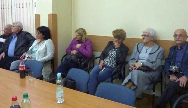 Obradom radnych powiatowych przysłuchiwali się delegaci pracowników i pacjentów Klinik Serca.