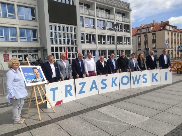 Posłowie Zientarski i Lubczyk oraz samorządowcy namawiali do poparcia Trzaskowskiego