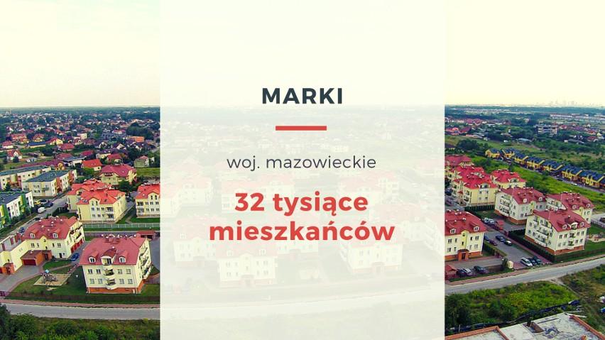Podwarszawskie Marki również są zamieszkane przez ok. 32...