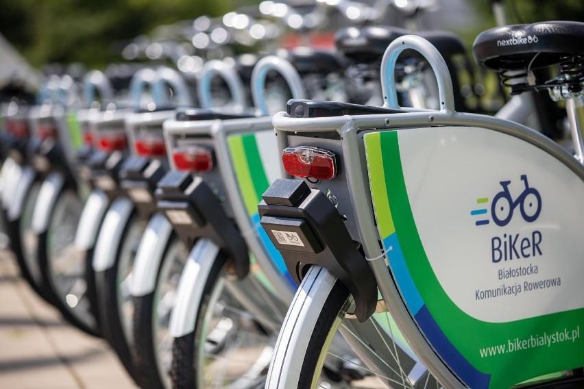 Rowery miejskie BiKeR...