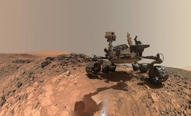 Fotografia autoportretowa łazika Curiosity