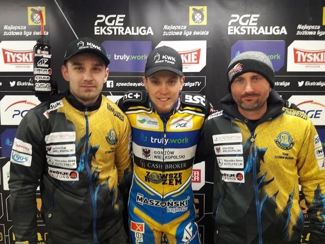 Szymon Woźniak i jego team