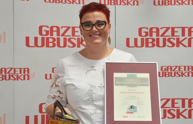 Małgorzata Bieniaszewska w środę, 20 lipca, przyjechała do naszej redakcji.
