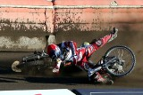 Groźny wypadek i kontuzja juniora Polonii [zdjęcia]
