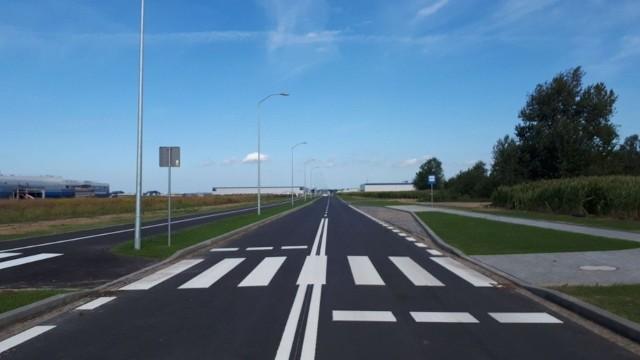 Budowa drogi wraz z infrastrukturą kosztowała 2,6 mln zł.