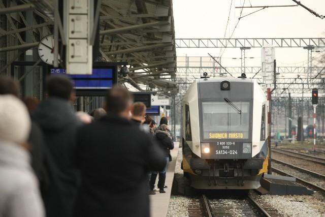 Wrocław, otwarcie nowego połączenia kolejowego Wrocław - Świdnica