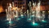 Niespodzianka z fontannami w Zielonej Górze. W każdej woda ma inny kolor, a lazurowa jest największa. Zobaczcie, jak wygląda!