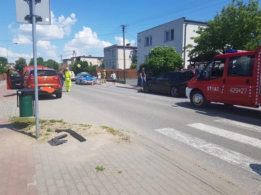 Straty spowodowane zderzeniem dwóch aut w Unisławiu...