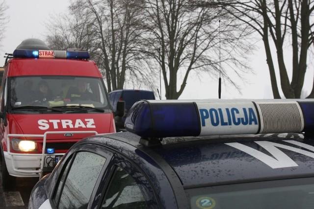 Śmiertelny wypadek motocyklisty w miejscowości Leńce