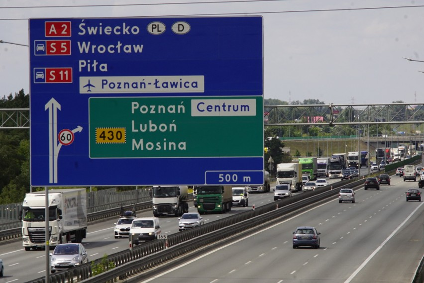 Ogromne korki na autostradzie A2 w kierunku Warszawy stają...