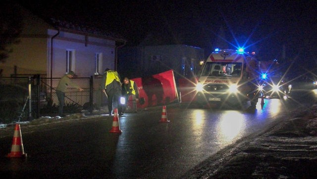 Do wypadku doszło w lutym ub. roku w Wyszatycach. Kierowany przez 42-letniego Zbigniewa G. seat ibiza wjechał w grupę kobiet, prawidłowo idących drogą.