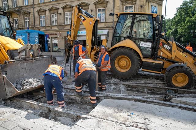 W tym roku na utrzymanie infrastruktury tramwajowej miasto przeznaczyło 40 mln zł.