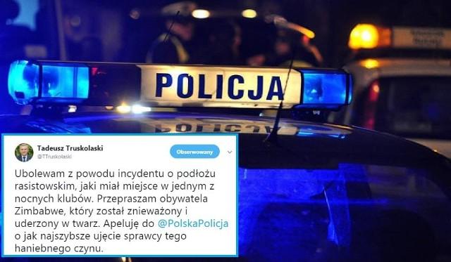 Białystok. Atak na 21-letniego obcokrajowca z Zimbabwe w nocnym klubie