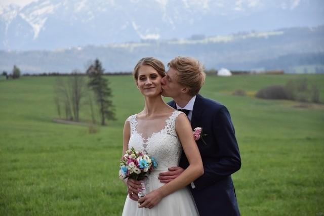 Dawid Kubacki i Marta Majcher wzięli ślub w maju 2019 roku