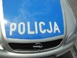 Zderzenie forda ze skodą w Kruszynie