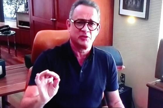 Tom Hanks dziękuje za akcję z Fiatem