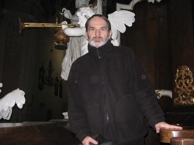 """Ojciec Jan Bereza, benedyktyn z Lubinia, współautor książki """"Posty i tosty"""""""