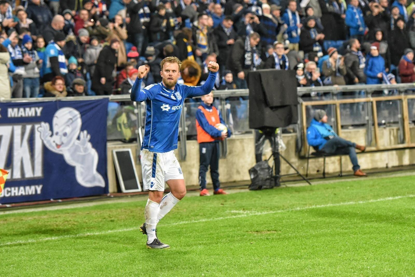 d03f685c7 Lech Poznań. Christian Gytkjaer: Wolę grać brzydko i wygrywać, niż ...