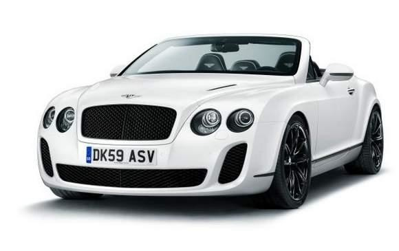 Bentley Continental Supersports Convertible.