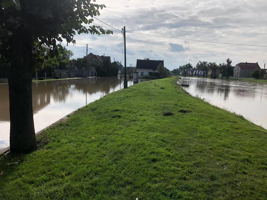 Wysoka woda w Kierpniu