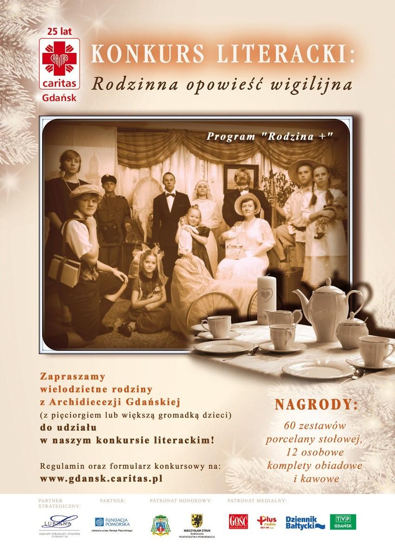 Caritas Ogłasza Konkurs Dla Rodzin Porcelanowy Zestaw