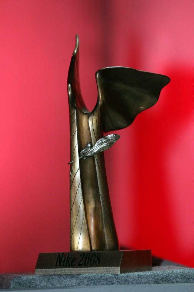 Statuetka Nagrody Literackiej Nike