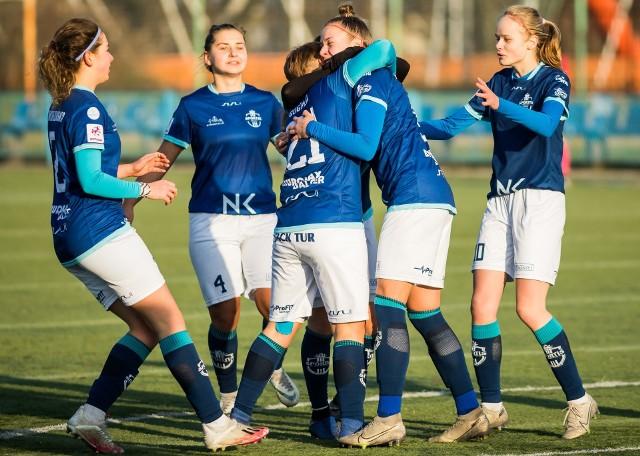 Piłkarki Sportisu KKP Bydgoszcz mają powody do radości. Awansowały do ćwierćfinału Pucharu Polski