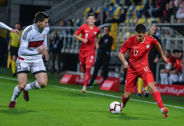 Reprezentacja do lat 21 zakończyła eliminacje zwycięstwem 3:0 nad Gruzją