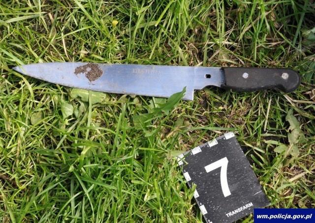 Usiłowanie zabójstwa na terenie ogródków działkowych w Piszu