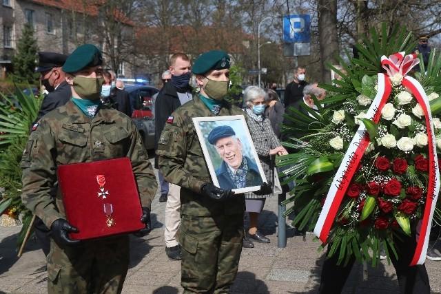 Pogrzeb prof. Jana Waszkiewicza 31.03.2021