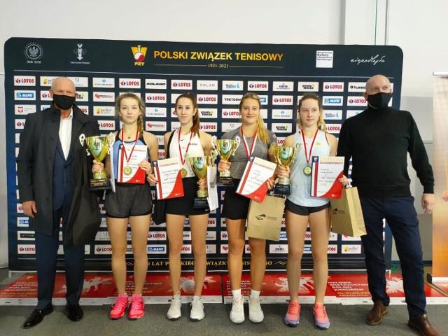 Halowe Mistrzostwa Polski Juniorów w Zielonej Górze.