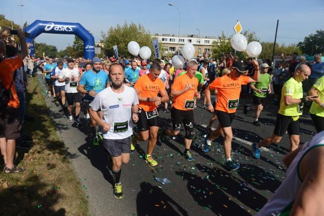 IV Novita Półmaraton Zielonogórski ukończyło 1201 biegaczy.