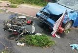 Śmiertelny wypadek w Smolnicy. Nie żyje kierowca. Dziecko zabrał LPR. Sprawca uciekł do lasu. Był kompletnie pijany