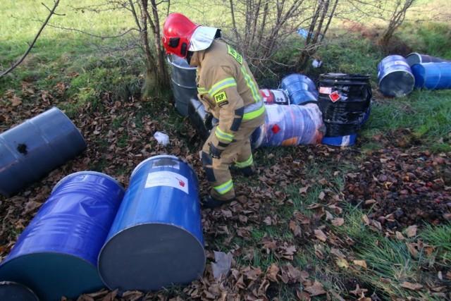 W ostatnich tygodniach do lasów trafiło 11 360 litrów nieznanej, potencjalnie niebezpiecznej substancji