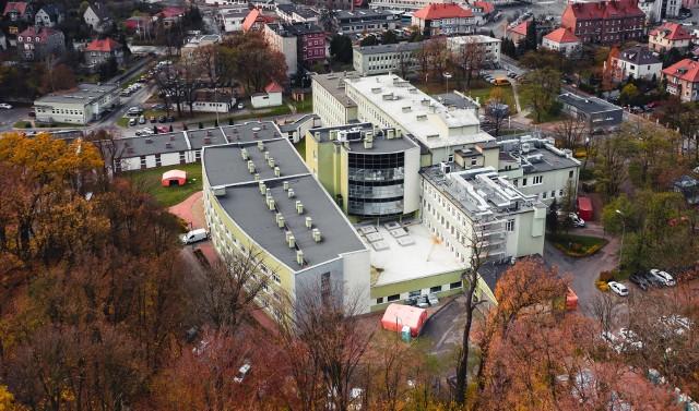 Kozielski szpital covidowy.