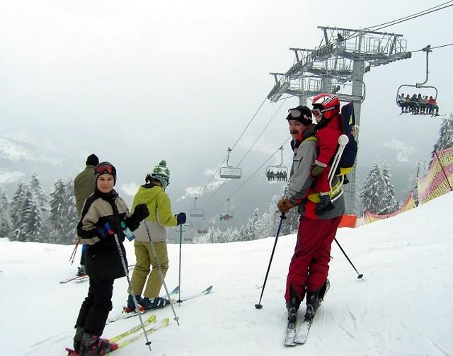 Słowackie wyciągi nadal imponują polskim narciarzom. Fot. P. Kutkowski
