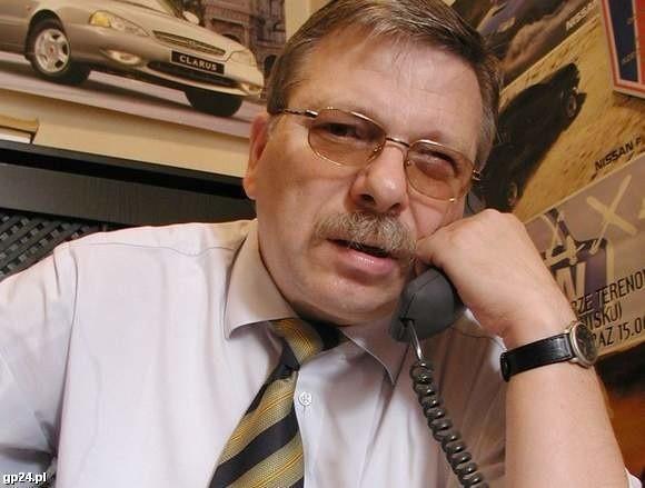 Na zdjęciu Roman Giedrojć, szef słupskiego oddziału Państwowej Inspekcji Pracy w Słupsku.