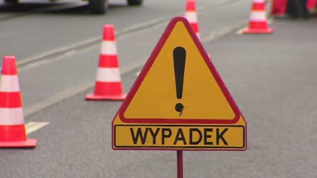 Wrocław, wypadek, droga, zdjęcie ilustracyjne.