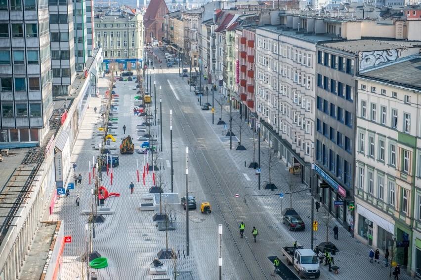 Zakończył się remont odcinka ulicy Święty Marcin. Fragment...
