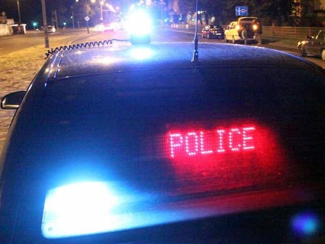 Policjanci dogonili uciekające bmw