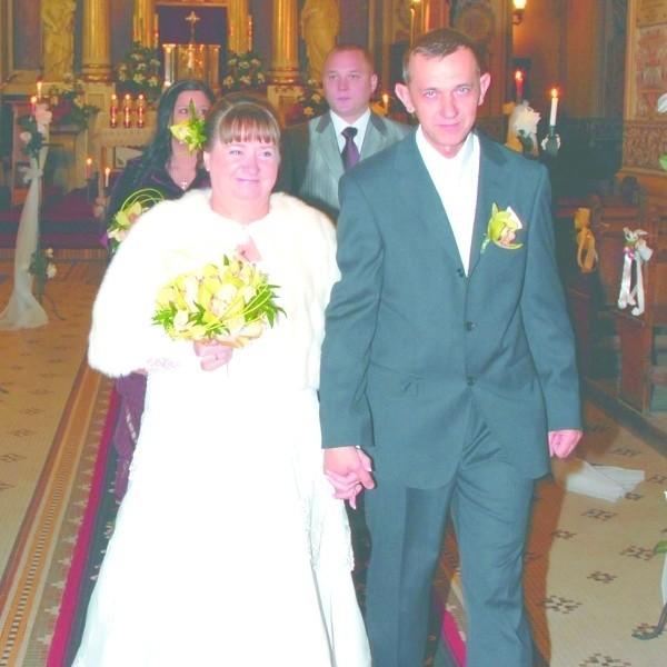 Uroczystość ślubna Zofii i Adama odbyła się w kościele p.w. Św. Antoniego w Sokółce