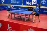 Ekstraklasa tenisa stołowego kobiet. Drużyny Dojlid i AZS w środku tabeli