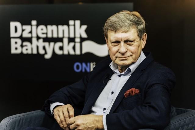 """Leszek Balcerowicz w programie """"Pod Ostrym Kątem"""""""