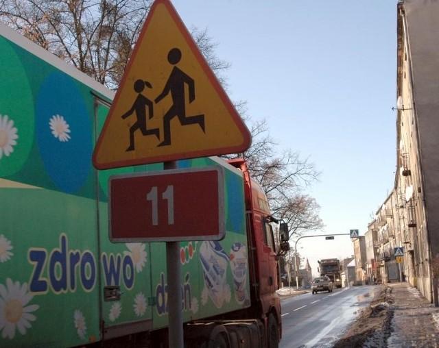 Tiry na Wielkim Przedmieściu w Oleśnie.