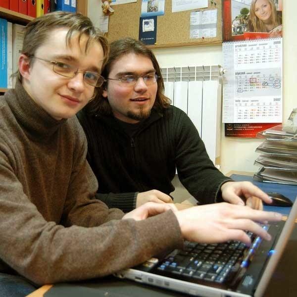 - Świętosław Woźniak i Michał Olejarski, studenci II roku informatyki i ekonometrii na WSIZ wiedzą, że wybrali kierunek przyszłościowy.