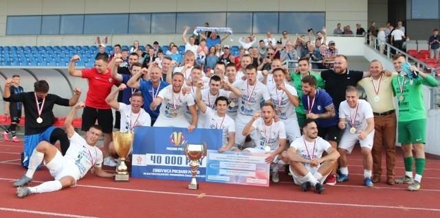 Artur Polehojko w 2020 roku świętował z Unią Regionalny Puchar Polski