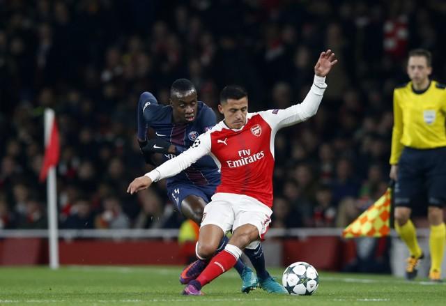 """Liga Mistrzów. Kuriozalne gole w Londynie. Remis Arsenalu z PSG. Kiepski """"Krycha"""" [ZDJĘCIA]"""
