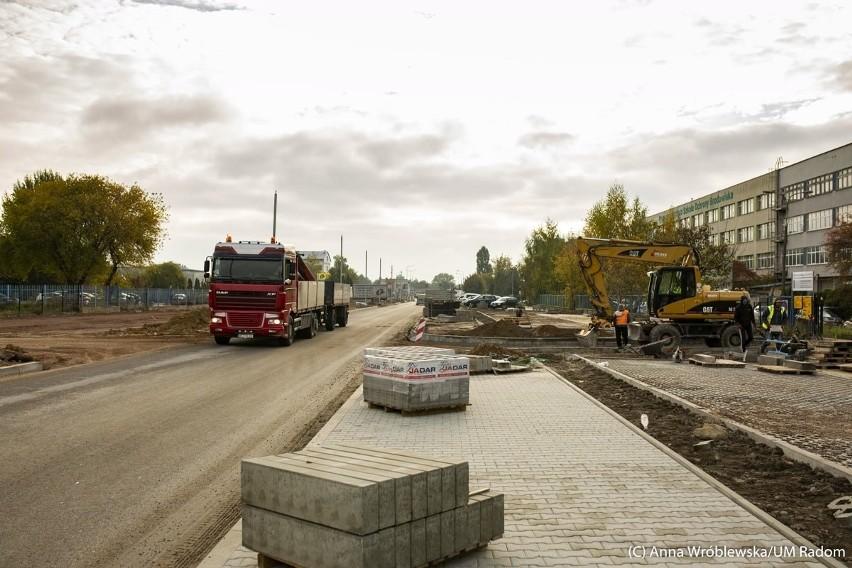 Dodatkowe pieniądze na budowę ulicy Marii Fołtyn. Radom dostał 4 miliony złotych od marszałka Mazowsza