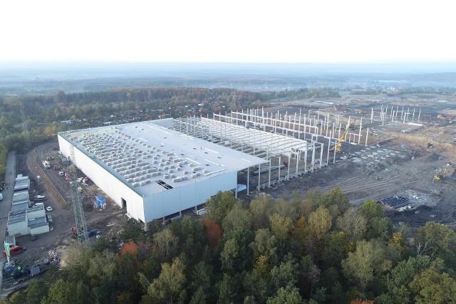 Trwa budowa Prologis Park Ruda Śląska w Kochłowicach. Otwarcie centrum dystrybucyjnego jest planowane na połowę 2020 r.
