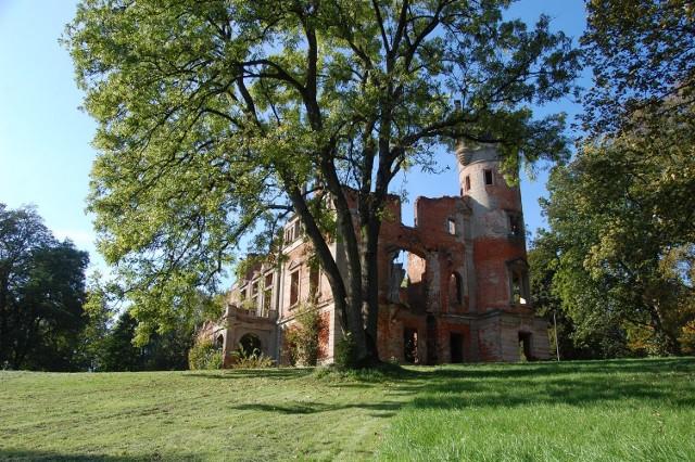 Ruiny Pałacu w Runowie Krajeńskim
